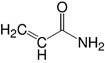 Structure Acrylamid 4X_p.a.