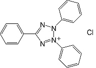 Structure Triphenyltetrazoliumchlorid_p.a.