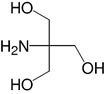 Structure Tris(hydroxymethyl)aminomethan_reinst