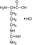 Structure L-Arginine·HCl_research grade, Ph. Eur., USP