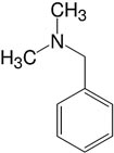 Structure Benzyl dimethylamine_research grade