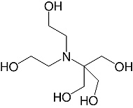 Structure 2-[Bis(2-hydroxyethyl)amino]-2-(hydroxymethyl)-<br>1,3-propanediol_analytical grade
