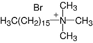 Structure Cetyltrimethylammonium·bromide_cryst. pure