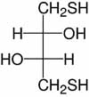 Structure Dithiothreitol_analytical grade