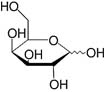 Structure D-Galactose_research grade