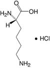 Structure L-Lysine·HCl_research grade, Ph. Eur.