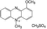 Structure 1-Methoxyphenazine·methosulfate_research grade