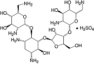 Structure Neomycin·sulfate_research grade, Ph. Eur.