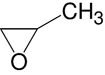 Structure Propylene oxide_research grade