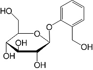 Structure D-Salicin_research grade