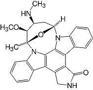 Structure Staurosporine_research grade