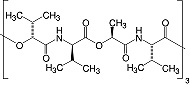 Structure Valinomycin_research grade