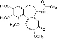 Structure Colchicine_cryst. research grade, USP